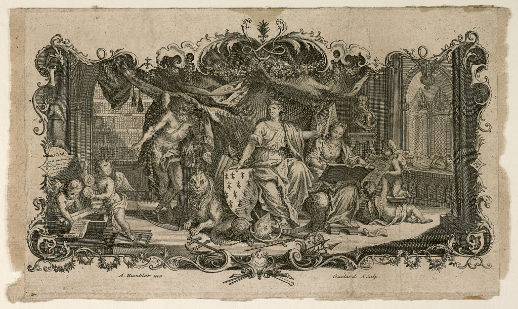 Armoirie, par Antoine Humblot, Musée de Bretagne