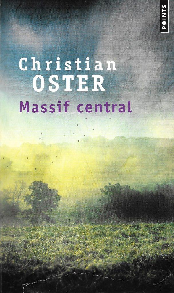 Christian Oster, Massif central, éd. de 2019, couverture