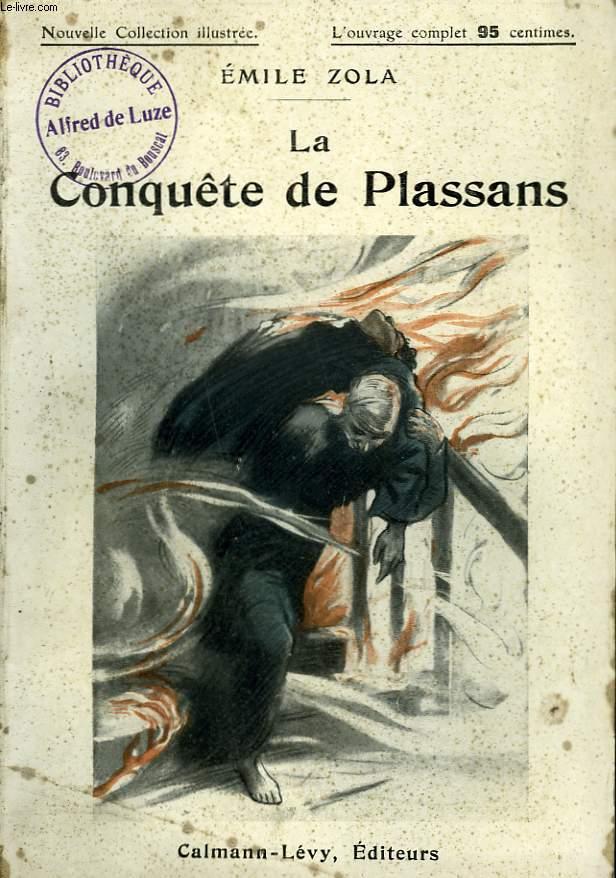 Émile Zola, la Conquête de Plassans, couverture