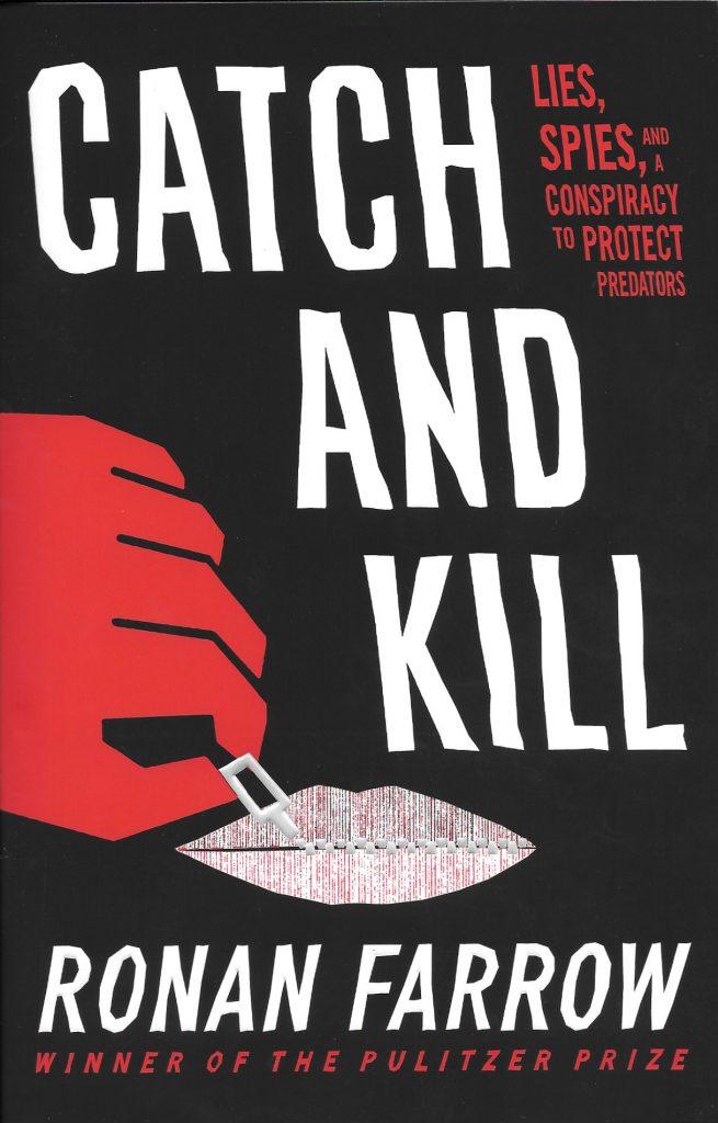 Ronan Farrow, Catch and Kill, 2019, couverture