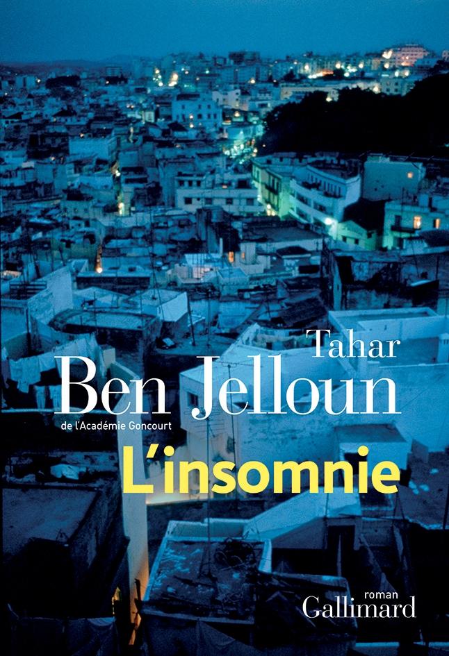 Tahar Ben Jelloun, l'Insomnie, 2019, couverture
