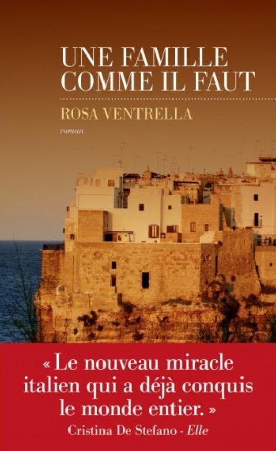 Rosa Ventrella, Une famille comme il faut, 2019, couverture