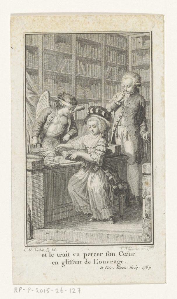 Gravure de Charles Étienne Gaucher, d'après Charles Nicolas Cochin, 1788 ou 1789