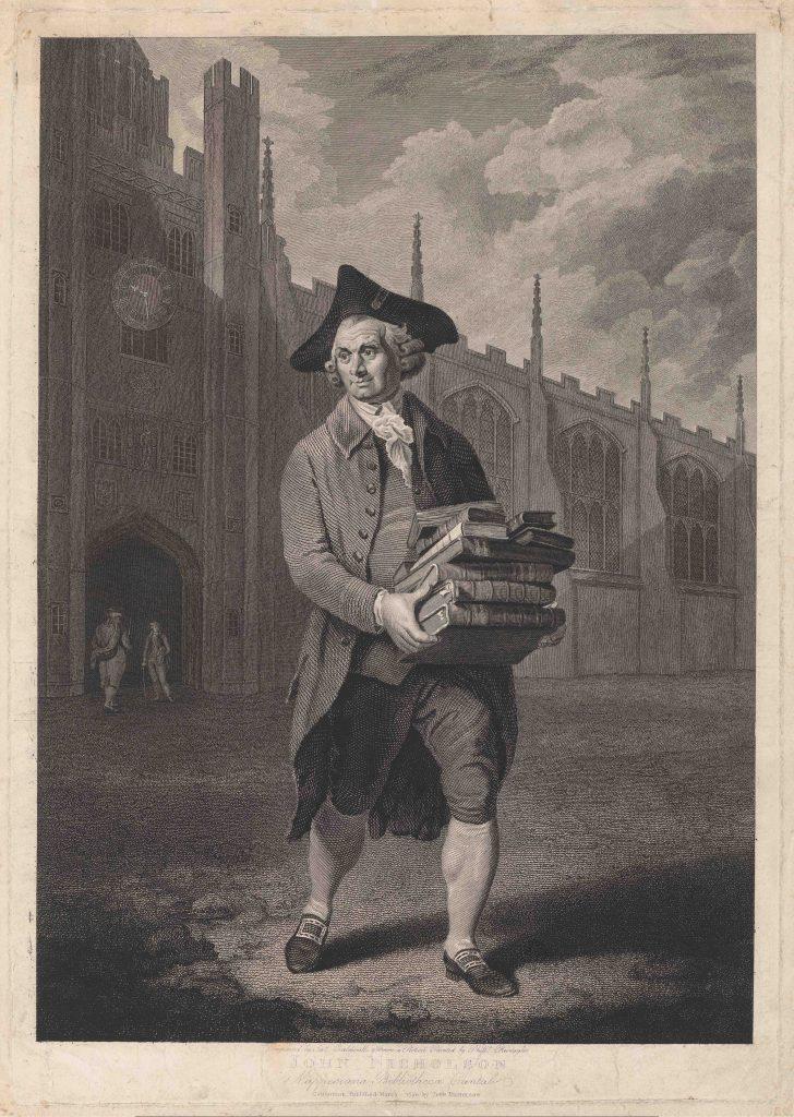 Portrait de John Nicholson, gravure de James Caldwall, d'après Philip Reinagle, mars 1790