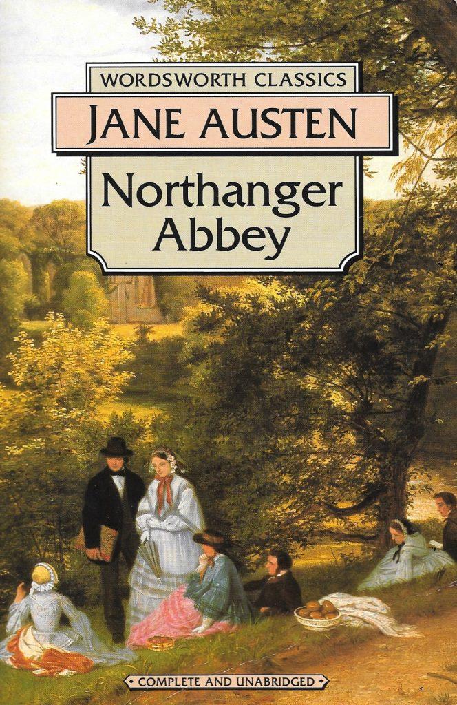 Janes Austen, Northanger Abbey, éd. de 1993, couverture