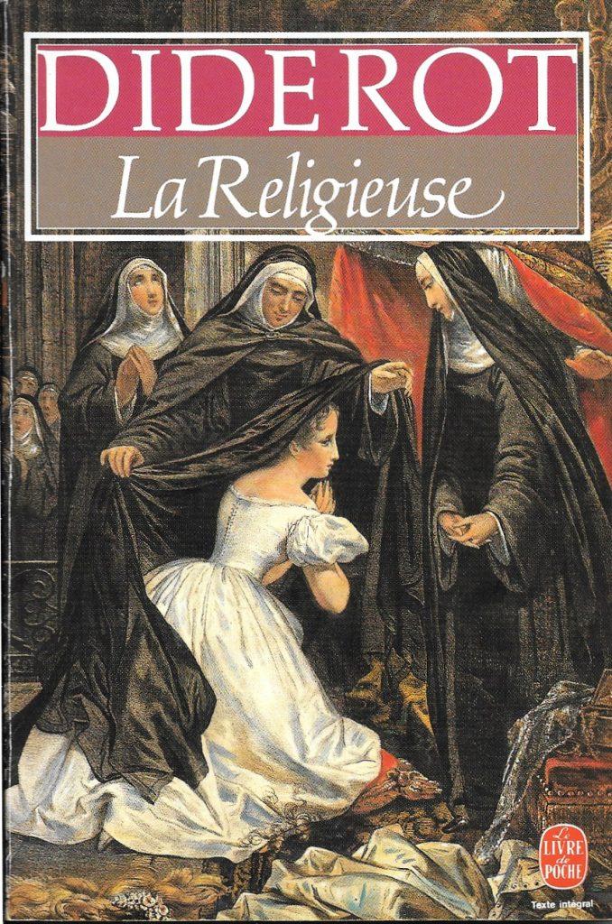 Denis Diderot, la Religieuse, éd. de 1983, couverture