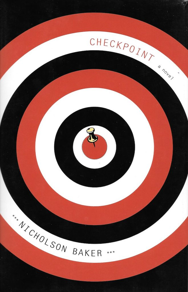 Nicholson Baker, Checkpoint, 2004, couverture