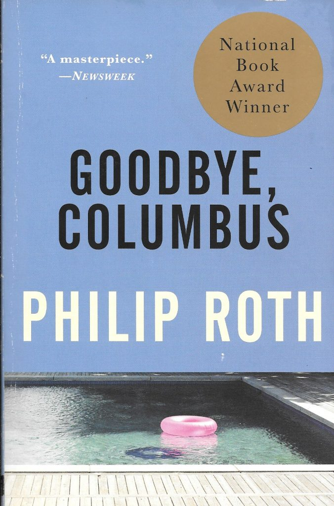 Philip Roth, Goodbye, Columbus and Five Short Stories, 1993, couverture
