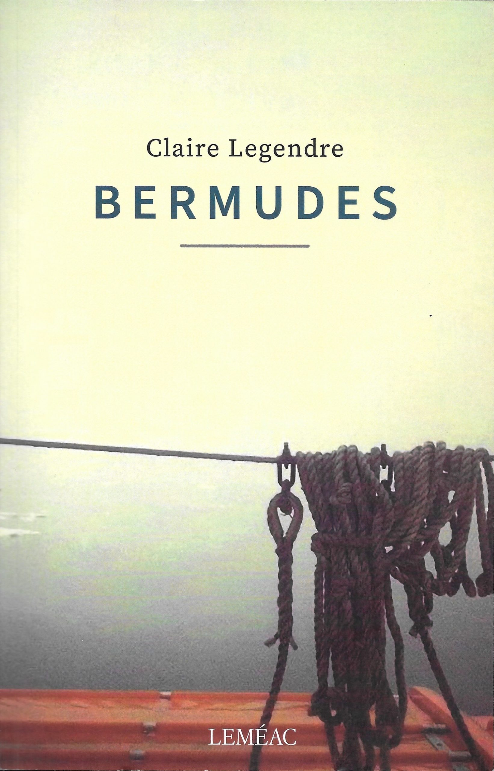 Claire Legendre, Bermudes, 2020, couverture