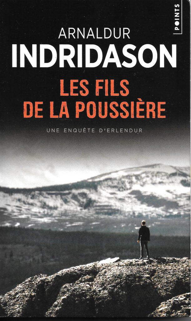 Arnaldur Indridason, les Fils de la poussière, 2019, couverture
