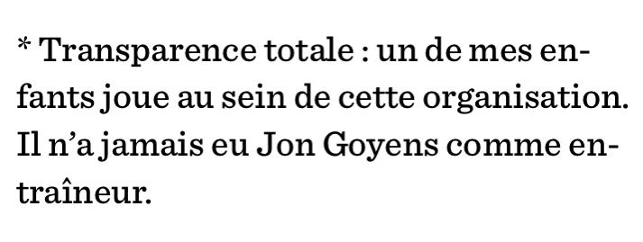 «Transparence totale», la Presse+, 27 novembre 2020