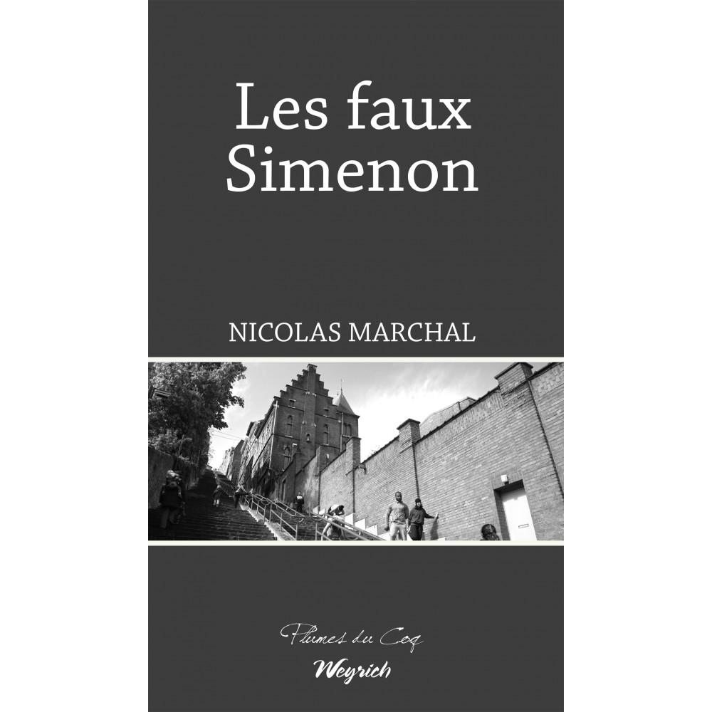 Nicolas Marchal, les Faux Simenon, 2019, couverture