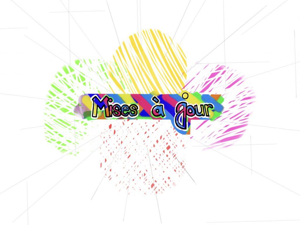 Mises à jour, logo, 2021, Charles Malo Melançon