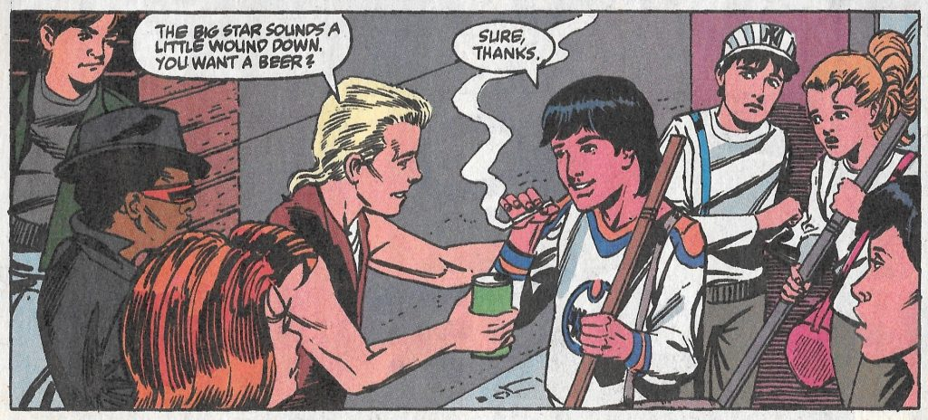 Vignette de The Amazin Spider-Man. Skating on Thin Ice !, 1990