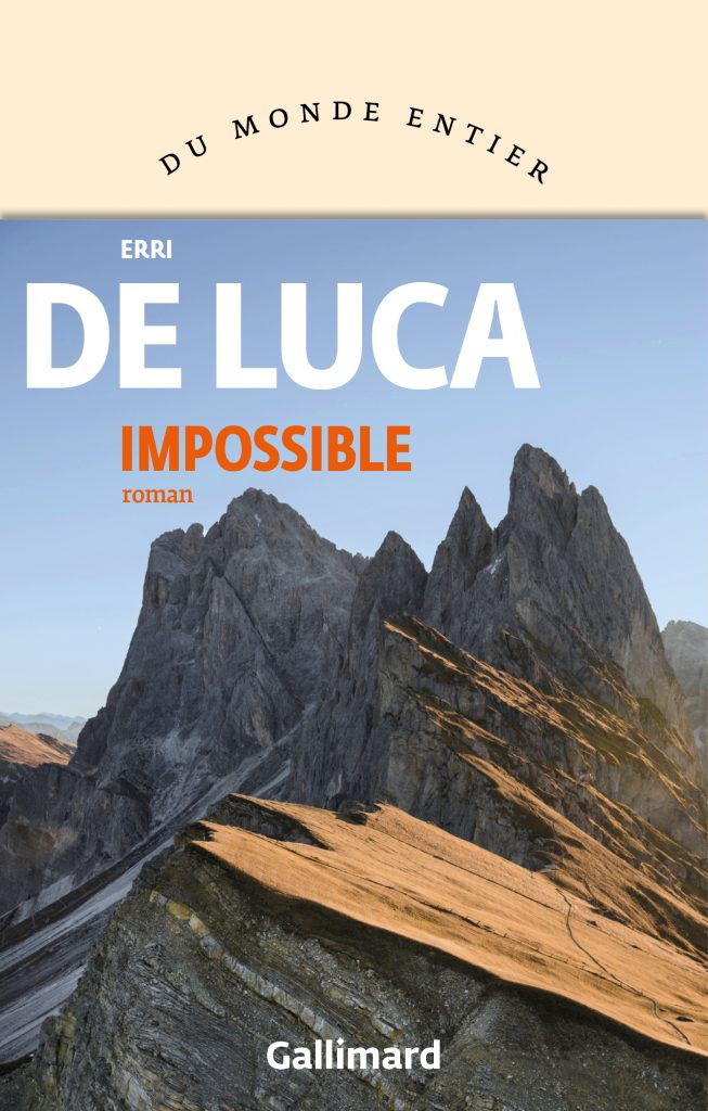Erri de Luca, Impossible, 2020, couverture