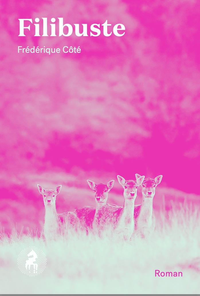 Frédérique Côté, Filibuste, 2021, couverture