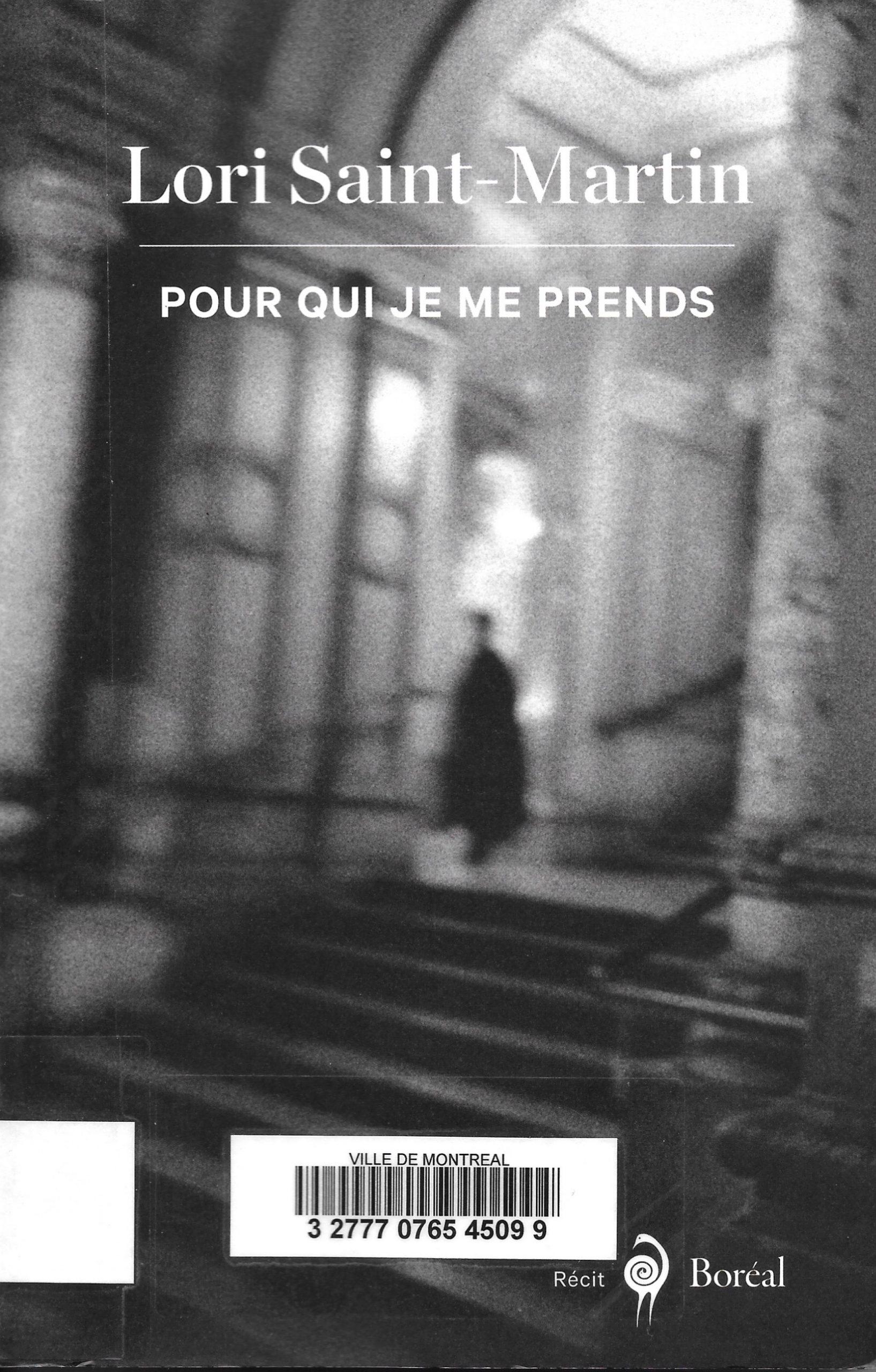 Lori Saint-Martin, Pour qui je me prends, 2020, couverture