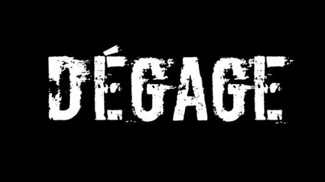 «Dégage», slogan politique