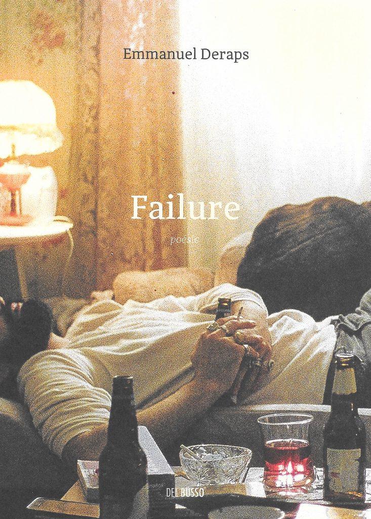 Emmanuel Deraps, Failure, 2019, couverture