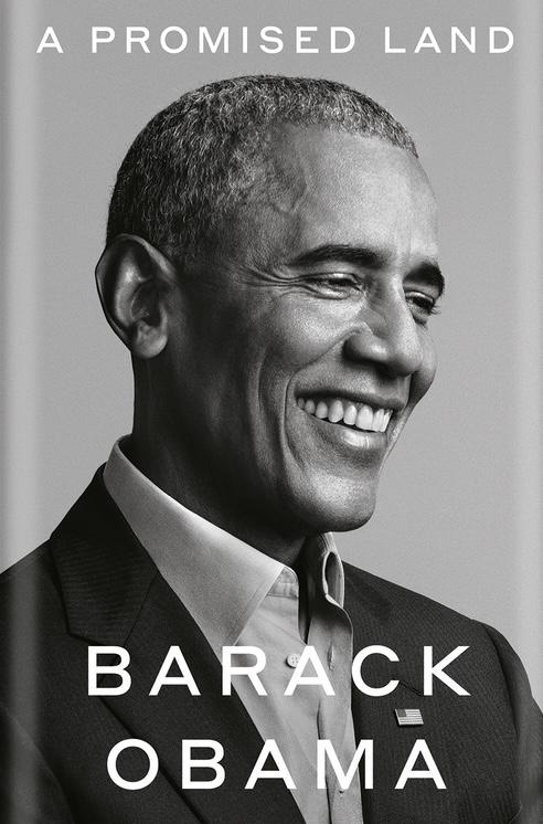 Barack Obama, A Promised Land, 2020, couverture