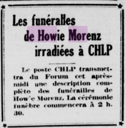 Illustration tirée de La Patrie du 11 mars 1937