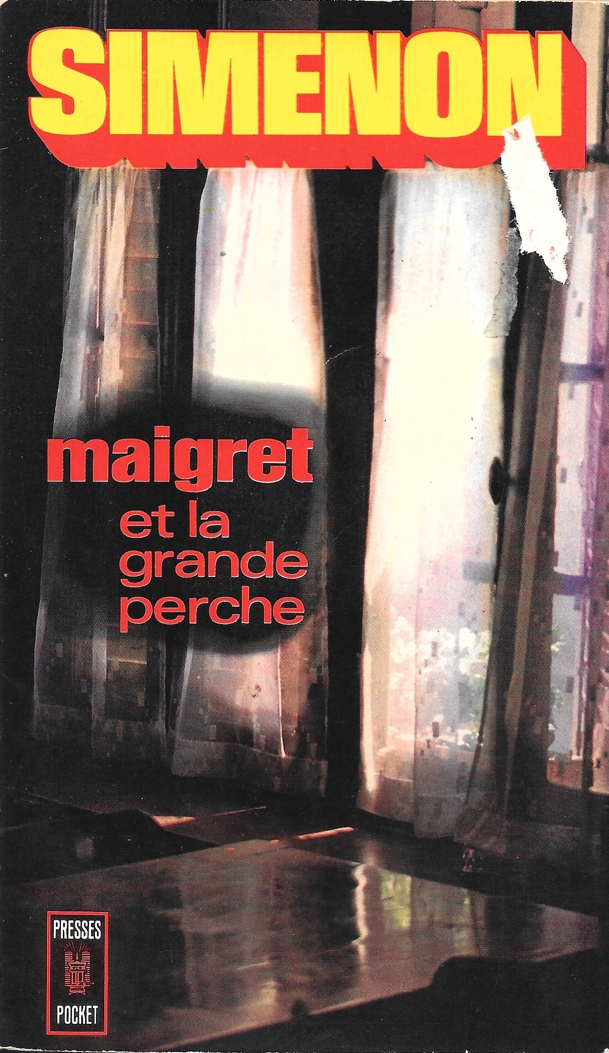 Simenon, Maigret et la Grande Perche, éd. de 1972, couverture